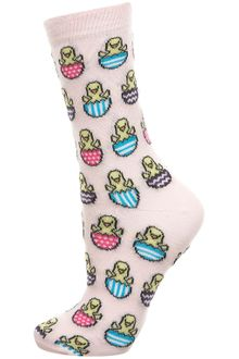 Topshop Easter Egg and Chick Socks - Lyst