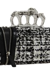 Alexander McQueen Knuckle Box Clutch - Lyst