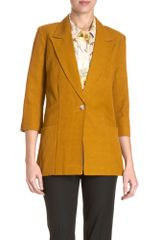 Elizabeth And James Joanna Blazer in Brown - Lyst