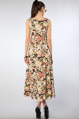 Mink Pink The Valerie Maxi Dress in Multicolor (floral) - Lyst