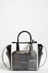Reed Krakoff Mini Atlantique Python Satchel - Lyst