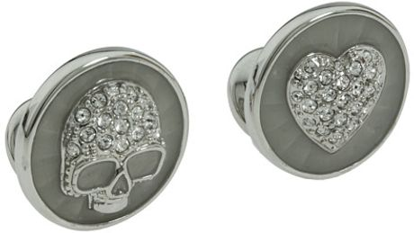 Vivienne Westwood Love Death Cufflinks in Silver (i) - Lyst