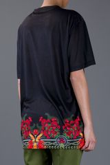 Givenchy Oversize Top in Black - Lyst