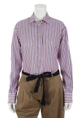 Alexander McQueen Striped Shirt - Lyst