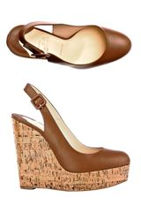 Christian Louboutin Altike 140mm Wedge Shoes - Lyst