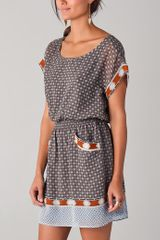 Club Monaco Dylan Dress - Lyst