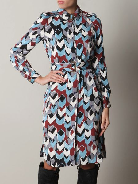 Diane Von Furstenberg Jafar Dress in Multicolor (blue) - Lyst