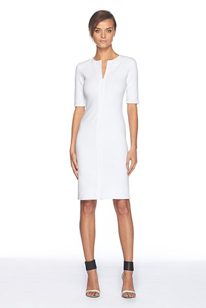 Diane Von Furstenberg Saturn Dress in White (optic white) - Lyst