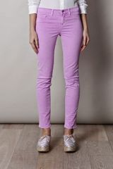 J Brand 811 Midrise Jeans in Purple - Lyst
