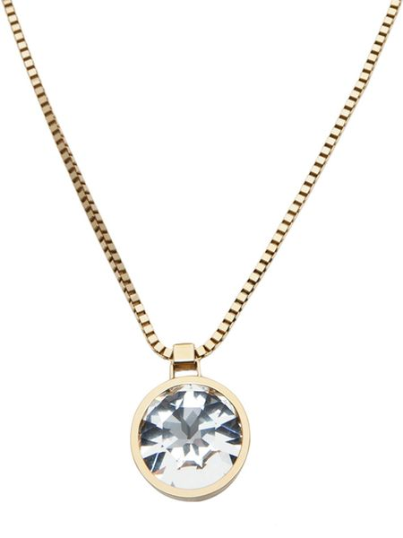 Lanvin Long Necklace in Gold - Lyst