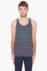 Marc By Marc Jacobs Undergrad Striped Tank Top - Lyst