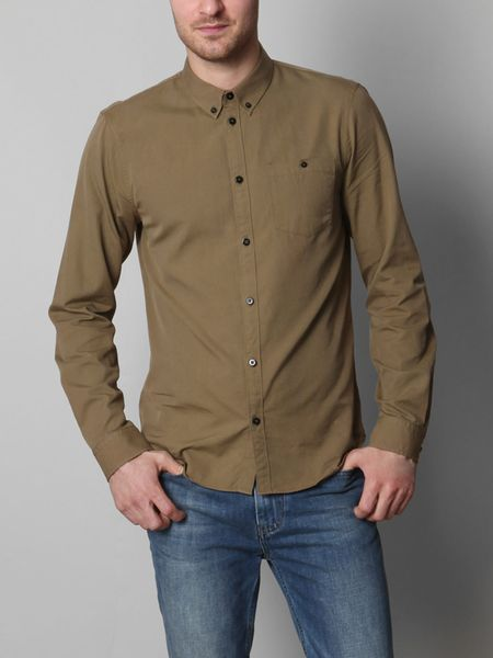 Marc By Marc Jacobs Oxford Shirt in Green for Men (khaki) - Lyst