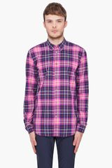 Marc By Marc Jacobs Horton Plaid Shirt - Lyst