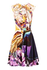 Mary Katrantzou Babelona Baelprint Dress in Multicolor (multi) - Lyst
