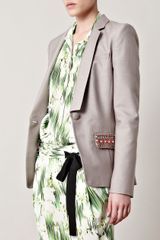 Matthew Williamson Embellished Silk Jacket - Lyst