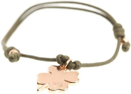 Mulberry Clover Friendship Bracelet in Green (clover)