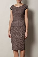 Nina Ricci Seersucker Check Dress - Lyst