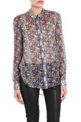 Theyskens' Theory Multiprint Top - Lyst