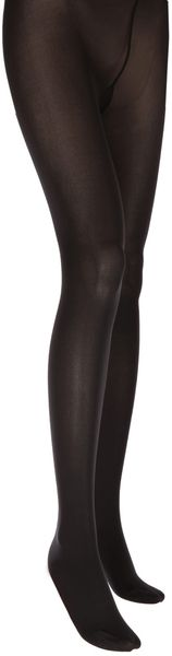 Wolford Black Velvet Deluxe Tights - Lyst