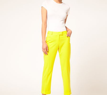 ASOS Collection  Slim Cropped Ankle Grazer Trousers