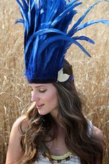 Free People Wanderlust Feather Headdress - Lyst