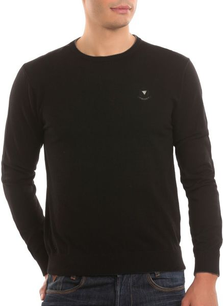Guess Berry Sweater in Black for Men - Lyst