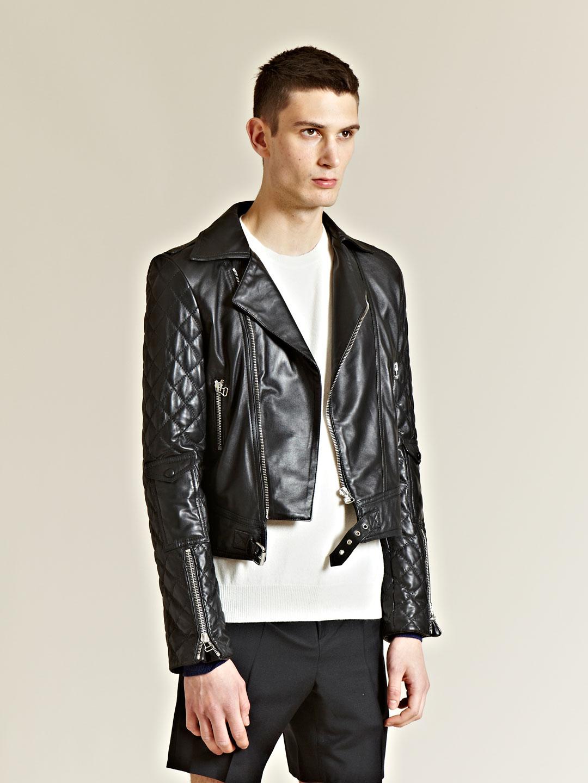Lyst - J.W.Anderson J W Anderson Mens Leather Biker Jacket