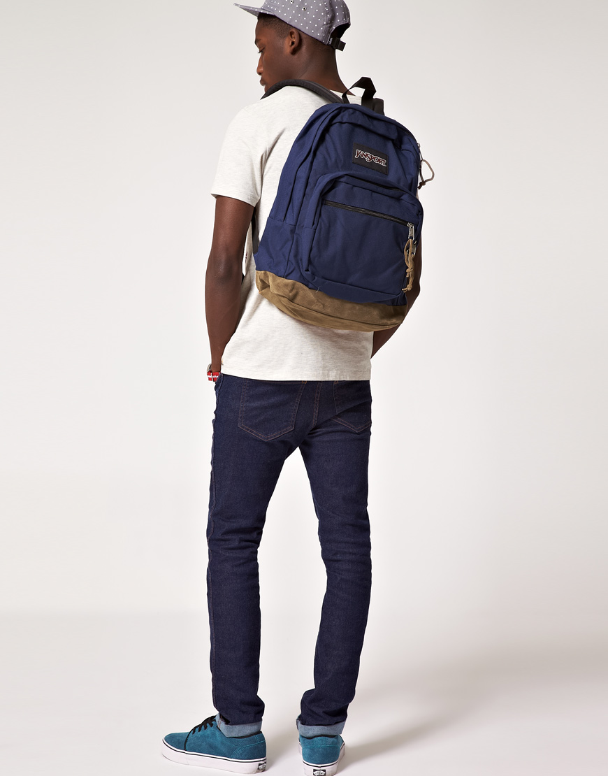 Lyst - Jansport Right Pack Backpack in Blue for Men 5a06c7ca78