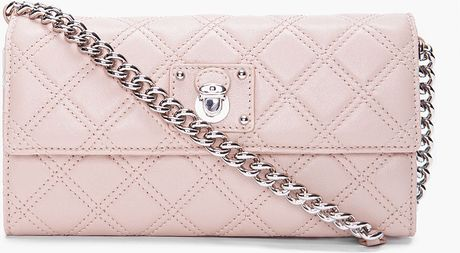 Marc Jacobs Blush Ginger Cross Body Bag in Pink (blush) - Lyst