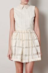 Opening Ceremony Crochet Lace Dress - Lyst