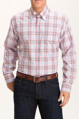 Robert Talbott Plaid Sport Shirt - Lyst