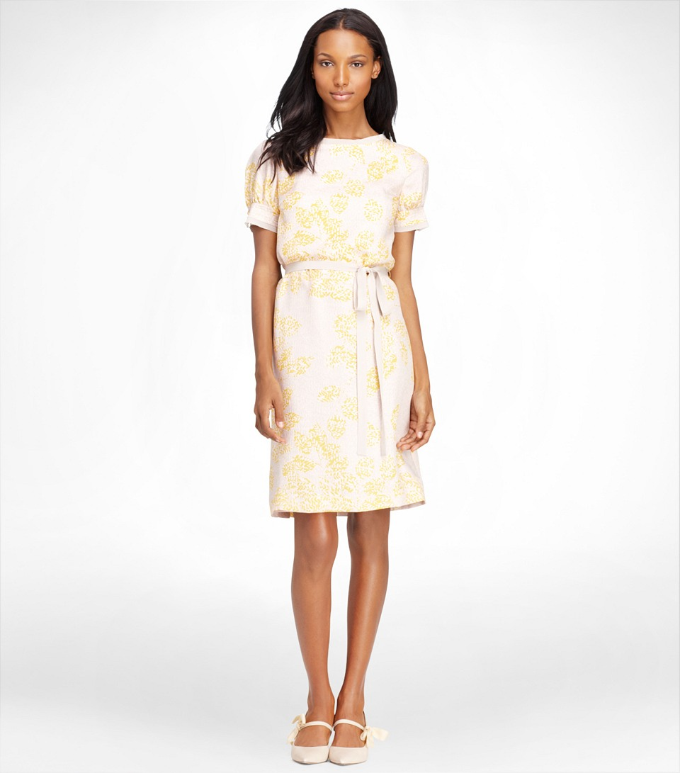 Lyst - Tory Burch Connor Dress In Natural