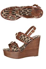 Tory Burch Florian High Wedges - Lyst
