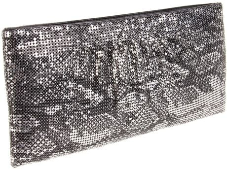 Bcbgmaxazria Bcbg Evelyn Clutch in Animal (gunmetal) - Lyst