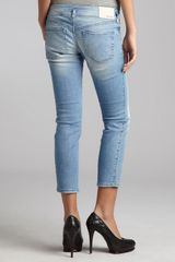 Diesel  Stretch Denim Hushy Skinny Jeans in Blue - Lyst