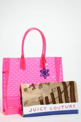 Juicy Couture Leann Tote Towel - Lyst