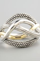 Lagos Unlaced Ring - Lyst