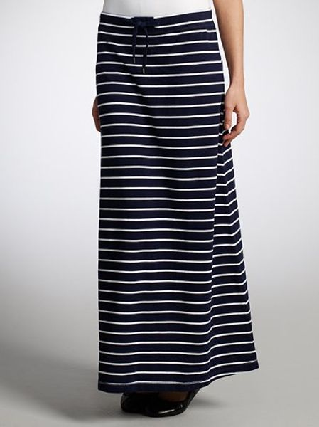 by ralph by ralph striped maxi