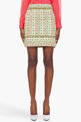 Matthew Williamson  Tweed Mini Skirt - Lyst
