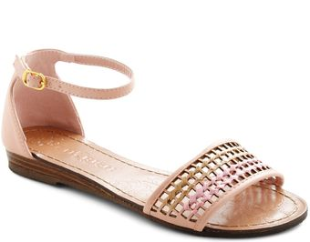 ModCloth Wearing Is Beweaving Sandal - Lyst