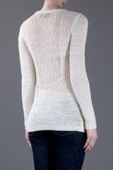 Rag & Bone Bridget Sweater in Beige (cream) - Lyst