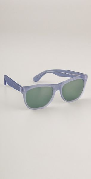 Super Sunglasses Basic Sunglasses in Blue - Lyst