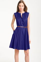 Suzi Chin For Maggy Boutique Pleated Dress - Lyst
