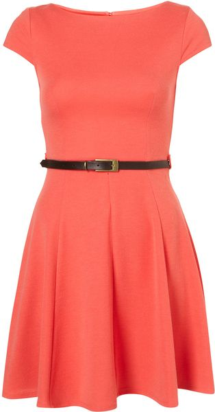 Topshop Plain Sleeveless Dress By Rare - Lyst