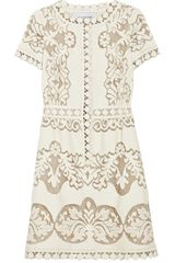 Valentino Cottonblend Lace Dress - Lyst