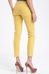 Current/Elliott The Stiletto Print Skinny Jeans - Lyst
