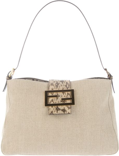 Fendi New Mia Bag in Beige (nude) - Lyst