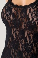 Hanky Panky Signature Lace Racer Back Chemise in Black - Lyst