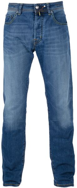 Jacob Cohen Straight Leg Jeans in Blue for Men - Lyst