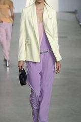 3.1 Phillip Lim Blazer with Kite Tail Collar in Yellow - Lyst